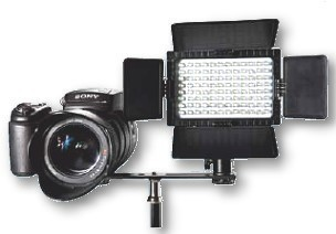 LED Fotoleuchten Set DV-96V-K1 dimmbar