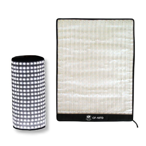 Flexibles LED Panel Roll-Flex 45 x 60 cm Bi-Color