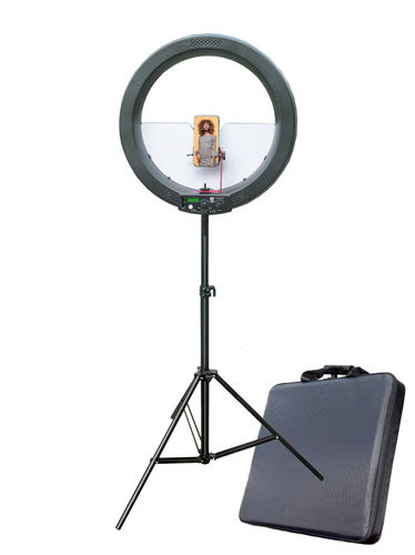 CF Photo LED Ringlicht RL-60B mit Stativ