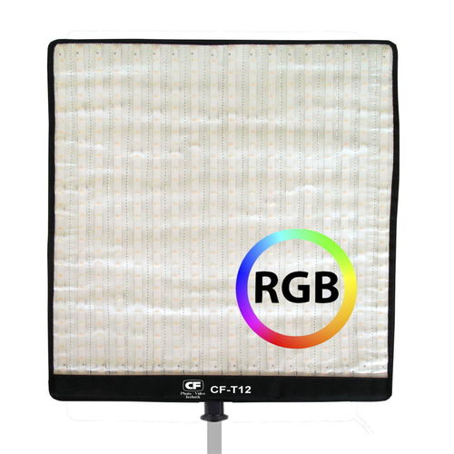 Super Slim Roll-Flex LED Light 34 x 33 cm RGB
