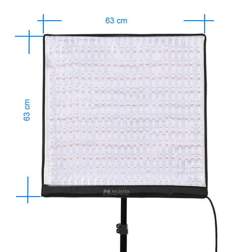 Flexibles LED Panel Roll-Flex 63 x 63 cm Bi-Color