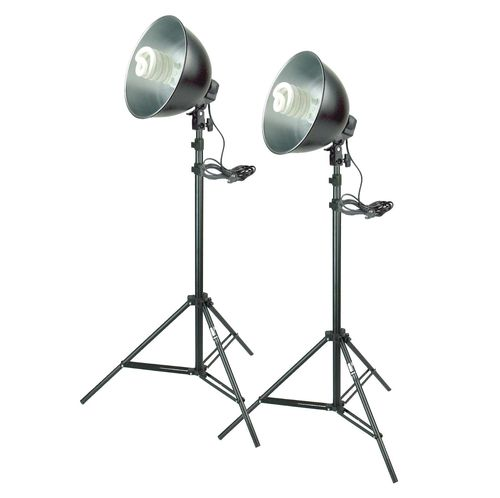 Super Studiolampen-Set 300W mit Stativ I Foto und Video Licht aus Köln WY-99