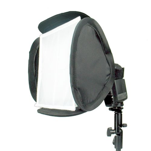 Mini Softbox 23x23 cm für Systemblitz