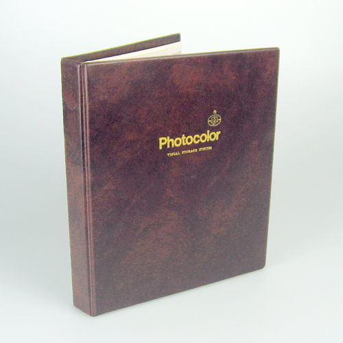 Photocolor Visual Storage System with 25 filing pages 35 mm